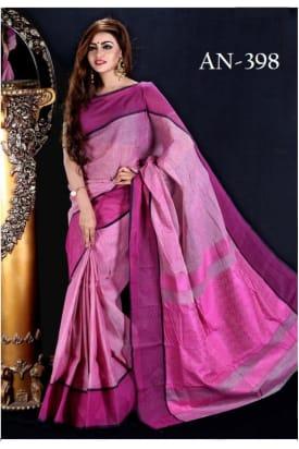Soft Cotton Tangail Saree-AN-398