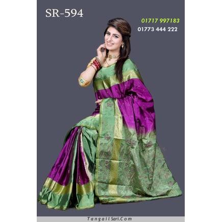 Soft Silk Saree-SR-594