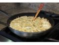 nonstick 12-Inch Turbo Fry Pan cooking pot stickers (TPA1004C)