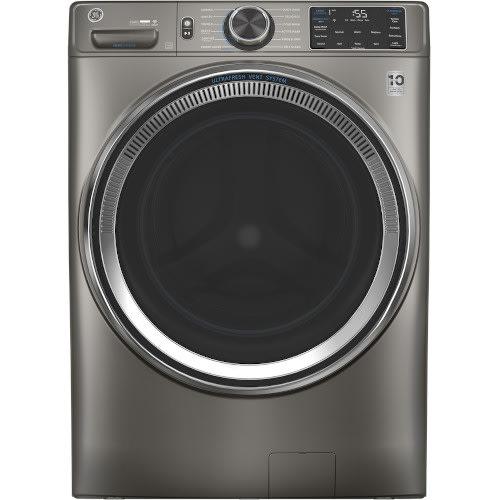 GE® 4.8 cu. ft. Smart Front Load Steam Washer w/ SmartDispense™ UltraFresh Vent System