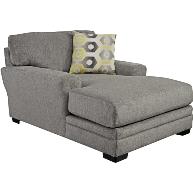 Sax Chaise - Grey - 329709284428