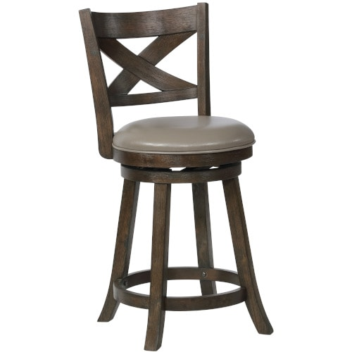"""Kenneth 24"""" Counter Stool - 2793C24GY"""