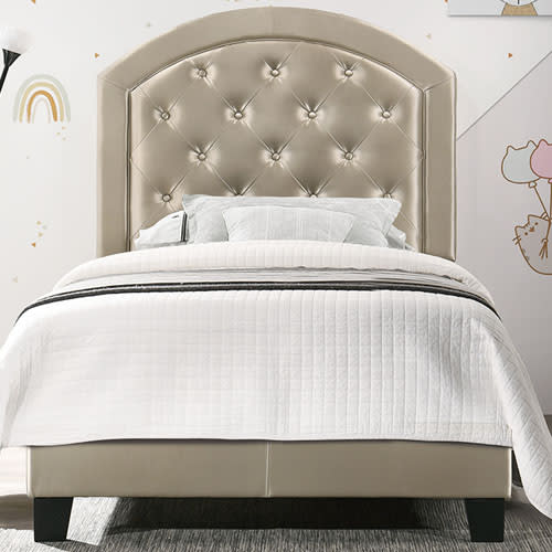 Gaby Twin Bed in Gold