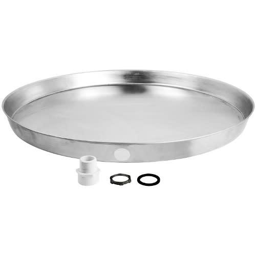 22 Inch Aluminum Water Heater Drain Pan