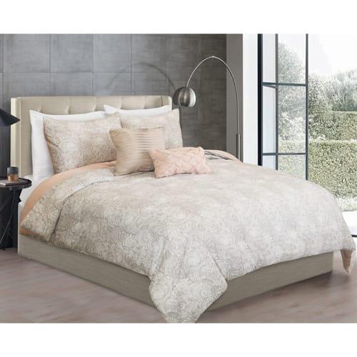 Cassidy 5 Piece Reversible Comforter Set - Full/Queen (80269)