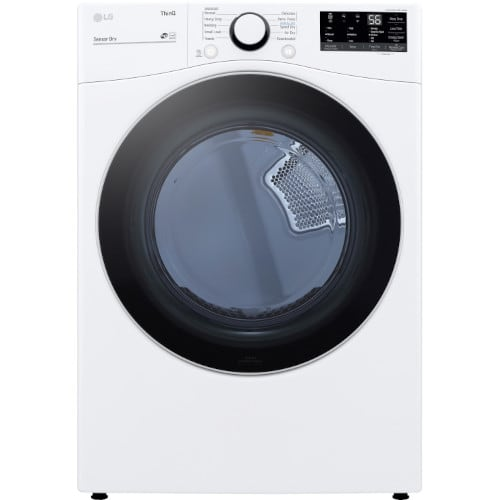 LG 7.4 cu. ft. Ultra Large Capacity Smart wi-fi Enabled Front Load Electric Dryer - DLE3600W