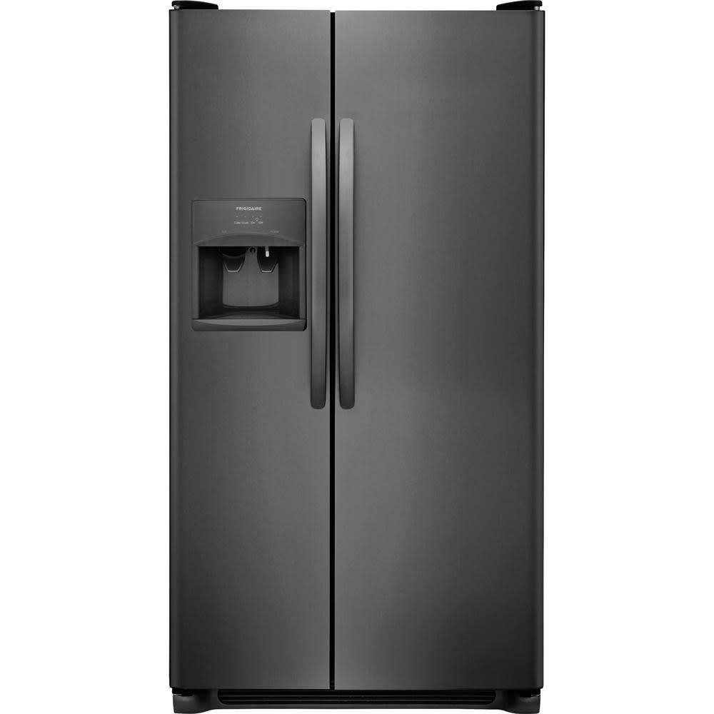 Frigidaire 25.5 Cu. Ft. Side-by-Side Refrigerator - (FFSS2615TD