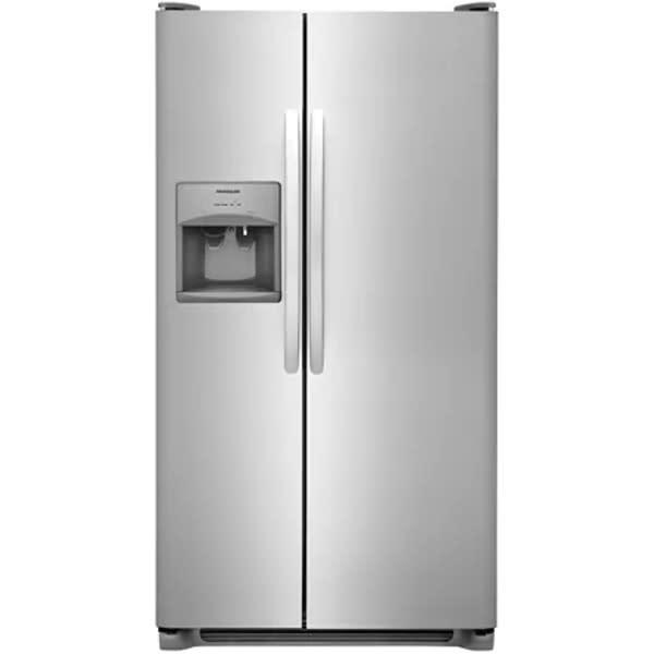 Frigidaire 25.5 Cu. Ft. Side-by-Side Refrigerator - FFSS2615TS