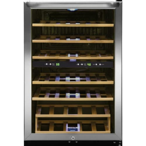 Frigidaire 38 Bottle Two-Zone Wine Cooler -FFWC3822QS
