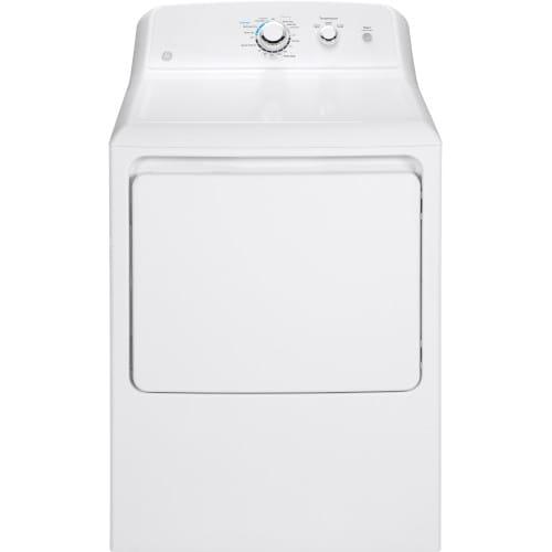 GE® 7.2 Cu. Ft. Capacity Aluminized Alloy Drum Gas Dryer - GTD33GASKWW