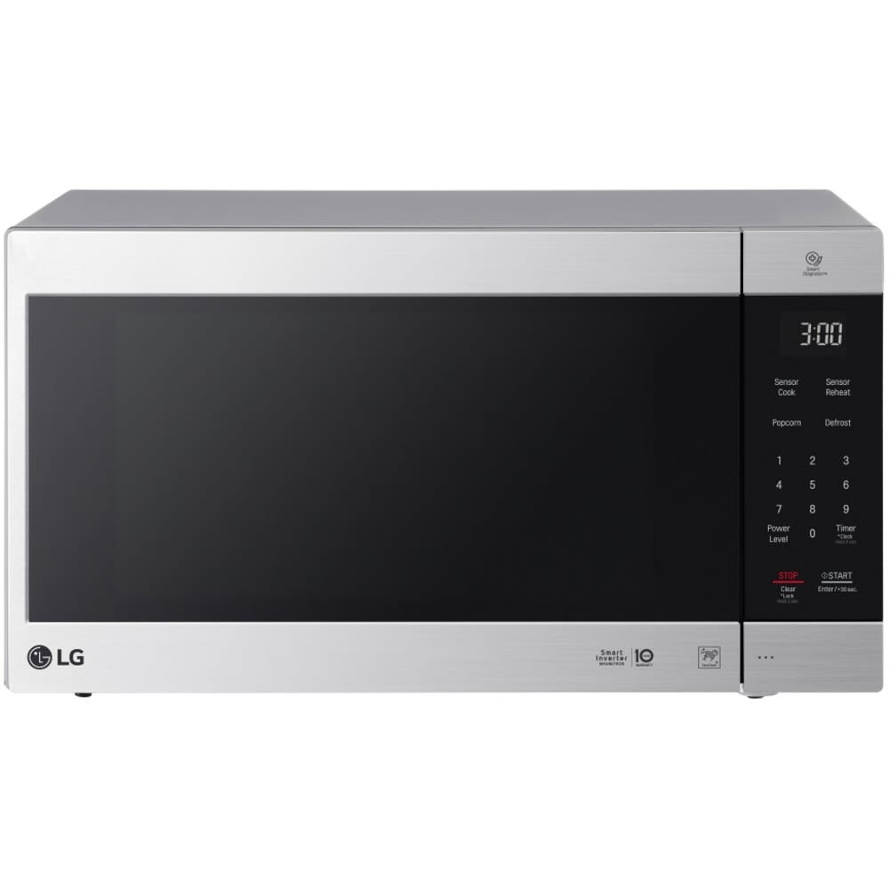 LG 2.0 Cu. Ft. NeoChef™ Countertop Microwave w/ Smart Inverter & EasyClean® - LMC2075ST