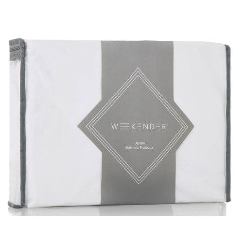 Weekender Jersey Waterproof Fitted Mattress Protector - Twin (WK0PTTMP)