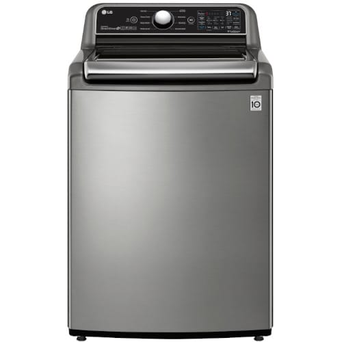 LG 4.8 cu. ft. Smart Wi-Fi Enabled Top Load Washer with 4-Way™ Agitator and TurboWash3D™ - WT7305CV