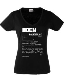 BOEM Paukeslag (dames, zwart)