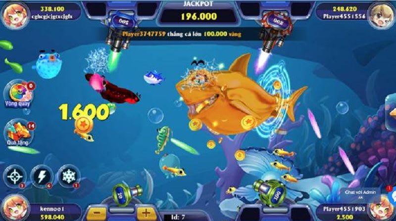 game ban ca 3d - Bắn cá 3D – game bắn cá đổi thưởng làm mê đắm các game thủ