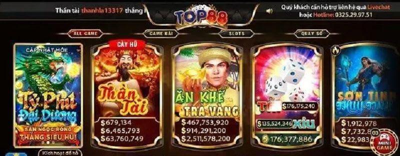 game top88.club  - Top88.Club – cổng game bài đại gia được nhiều người yêu thích