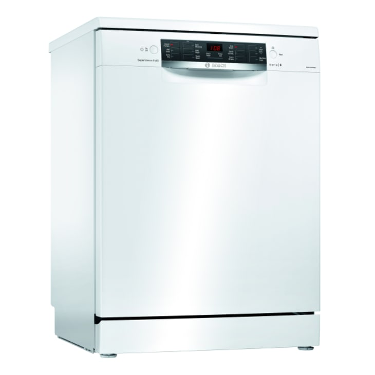 Bosch Freestanding White Dishwasher - Display stock only until the end of March