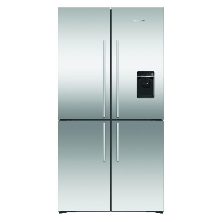 Fisher & Paykel 605L Quad Door Ice & Water Refrigerator