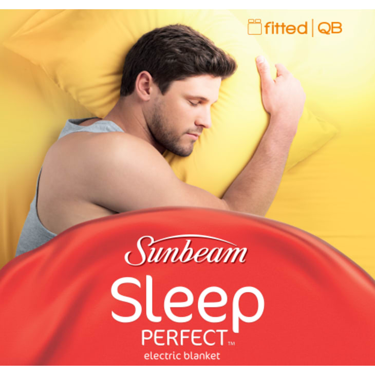 Sunbeam Sleep Perfect™ Fitted Queen Electric Blanket