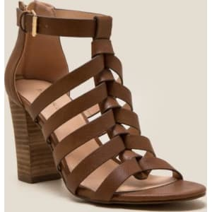 discount 2014 newest buy cheap Manchester Bellah Caged Block Heel CRxfa5