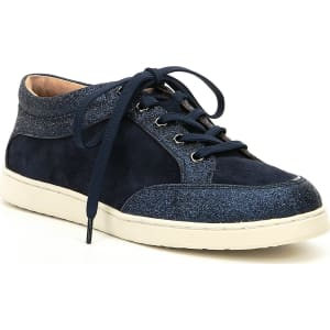 Alany Glitter Lace-Up Sneakers 1oOrEggVz