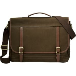 Fossil Evan Messenger Bags Olive- SBG1167345 from Fossil.