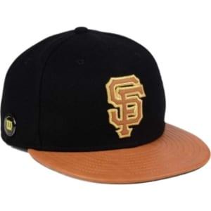 brand new 72603 7f23a New Era San Francisco Giants X Wilson Metallic 59FIFTY Fitted Cap ...