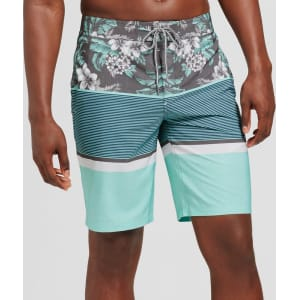 f55f1ed8d5 Men's 10 Stoked Board Shorts - Goodfellow & Co Aqua 34, Blue from ...