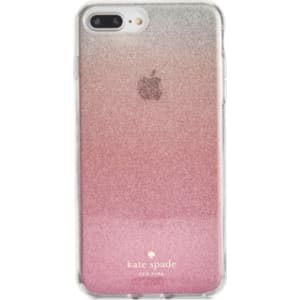 premium selection ef53f 8a318 kate spade new york Pink Glitter Ombre iPhone 8 Plus Case