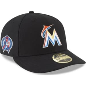 New Era Miami Marlins 9-11 Memorial Low Profile 59FIFTY Fitted Cap ... 662f76eb696