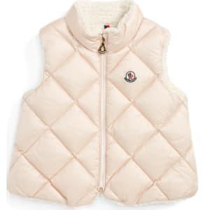 eeec39679fdb Toddler Girl s Moncler Ysaline Down   Fleece Lined Vest