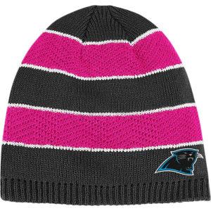 buy popular 52ed1 9ee26 Carolina Panthers Reebok Nfl Breast Cancer Awareness Womens Knit