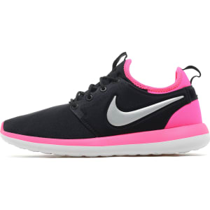 2134d26f44cd Nike Roshe 2 Junior - Black Pink - Kids from JD Sports.