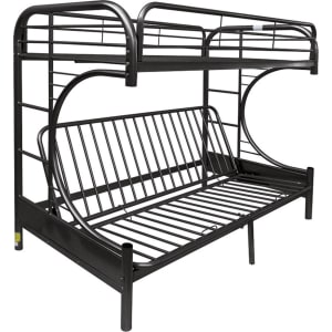 Eclipse Twin Over Full Futon Bunk Bed Black Acme Black From Target
