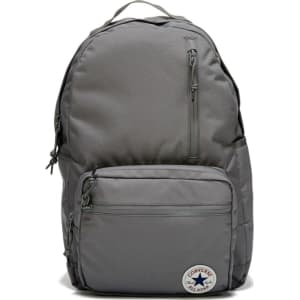 50e9465671ad Converse Go Pack Backpack Accessories (Charcoal) from Famous Footwear.