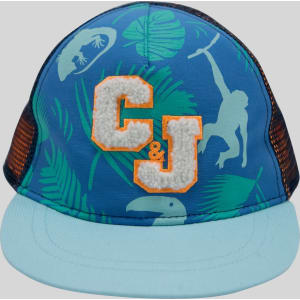 e576cc42 Baby Boys' Baseball Hat Tropical Print - Cat & Jack Blue 12-24M from ...