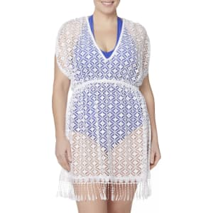 81cc1dadfd Plus Size Bongo Juniors  Plus Crochet Swim Cover-Up Dress