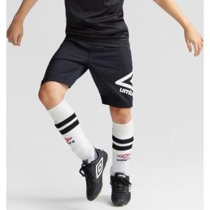 7450e0ddd Umbro Boys' Knit Logo Shorts - Black S from Target.