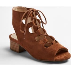 648da4b98b2 Girls  Stevies  Ohmy Heeled Gladiator Sandals - Chestnut (Brown) 1 ...