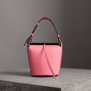 51497fd20cf2 Burberry The Small Leather Bucket Bag