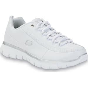 f106df86 Skechers Women's Elite Status Wide Athletic Shoe - White, Size: 5 ...