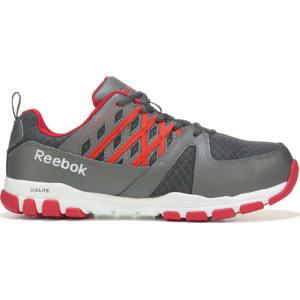 3b4de68736e826 Reebok Work Men s Sublite Work Medium Wide Steel Toe Work Shoes ...
