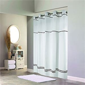 Hookless Built In Liner Shower Curtain From Boscovs