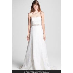 chantilly lace wedding dress