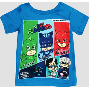 c8016c44 Toddler Boys' Pj Masks Short Sleeve T-Shirt - Blue 12M, Size: 12 M ...