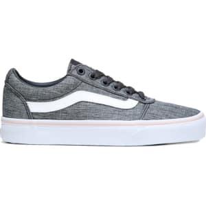 716324e15efa60 Vans Women s Ward Low Top Sneakers (Gray Rose) from Famous Footwear.