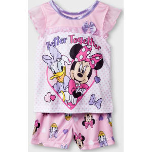 f9c538a20 Baby Girls' Disney Mickey Mouse & Friends Minnie Mouse 2pc Poly Pajama Set  - Pink/White 24m, Multicolored from Target.