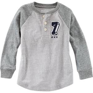 3c760b91f Toddler Boy Oshkosh B'gosh #7 Long Sleeve Henley from Boscov's.