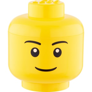 Lego Storage Head Boy from The Container Store