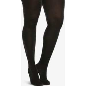 6319bf0792c Sparkly Opaque Tights in Black from Torrid.